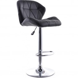 Haut Metal Backrest Bar Stool
